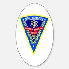 USS Proteus (AS 19) Oval Decal