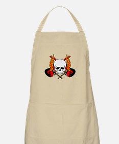 Guitars, Skull, and Torches BBQ Apron