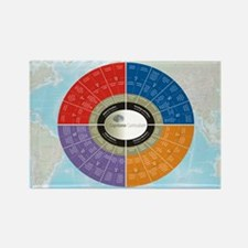 Capstone Circle Rectangle Magnet