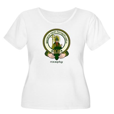 Murphy Clan Motto Women's Plus Size Scoop Neck T-S