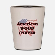 Funny Carver Shot Glass