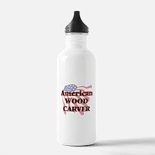 American Wood Carver Water Bottle