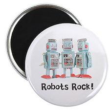 Robots Rock! Magnet