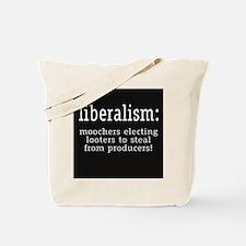 Liberalism Definition Tote Bag