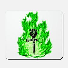 Gonzo Green Mousepad