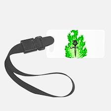 Gonzo Green Luggage Tag