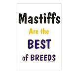 Mastiff Best Of Breeds Postcards (Package of 8)