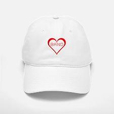 Band Hearts Baseball Baseball Cap