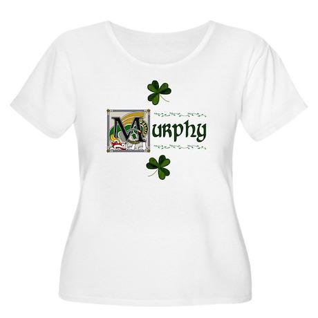 Murphy Celtic Dragon Women's Plus Size Scoop Neck