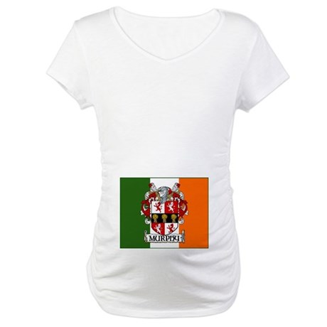 Murphy Arms Tricolour Maternity T-Shirt