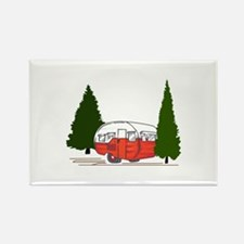 Vintage Camping Magnets