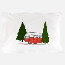 Vintage Camping Pillow Case