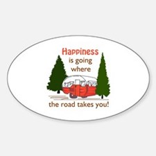 Where Road Takes You Bumper Stickers