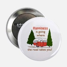 """Where Road Takes You 2.25"""" Button (10 pack)"""