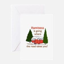 Where Road Takes You Greeting Cards