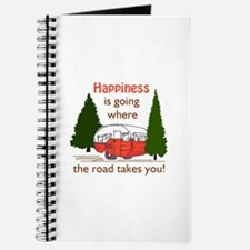 Where Road Takes You Journal