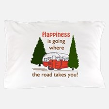 Where Road Takes You Pillow Case
