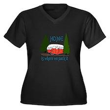 Where We Park It Plus Size T-Shirt