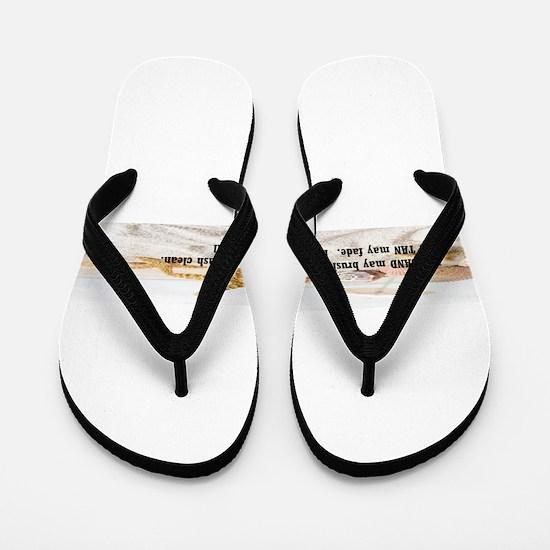 Beach Memories Flip Flops