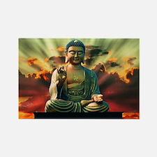 Unique Buddhist Rectangle Magnet