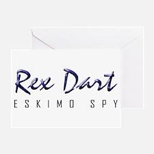 Rex Dart Greeting Card