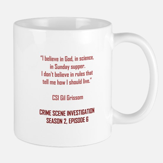 I BELIEVE IN GOD... Mugs