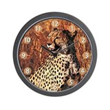 Cheetah Wall Clocks