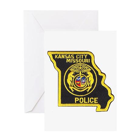Kansas City Police Greeting Card