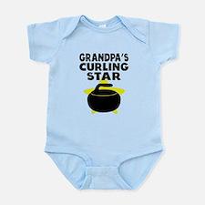 Grandpas Curling Star Body Suit