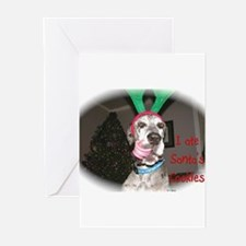 Unique Great dane christmas Greeting Cards (Pk of 20)