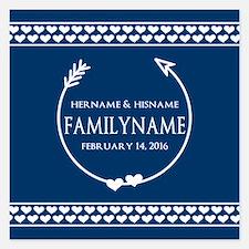 Personalized Names Monogram Invitations
