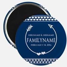 "Personalized Names Monogra 2.25"" Magnet (100 pack)"