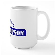 Fred Thompson Gym Logo Coffee Mug