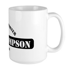 Fred Thompson Gym Logo Mug
