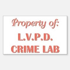 PROPERTY OF... Decal
