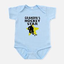 Grandpas Hockey Star Body Suit