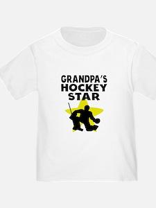 Grandpas Hockey Star T-Shirt