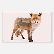 Fox Double Exposure Decal