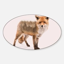Fox Double Exposure Decal