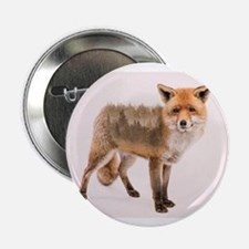 """Fox Double Exposure 2.25"""" Button (100 pack)"""