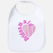 pink bachelorette party bridesmaid Bib