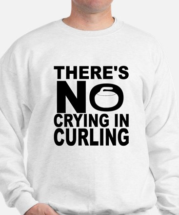 There's No Crying In Curling Sweater