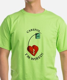 Funny Captain planet heart T-Shirt