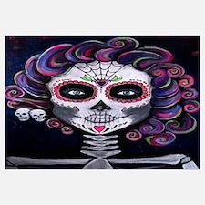 Cool Sugar skulls Wall Art