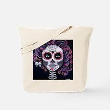 Unique Purple skull Tote Bag
