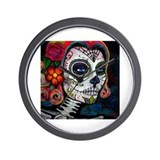 Sugar skull Basic Clocks