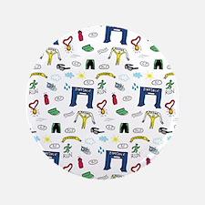 """Running Doodles 3.5"""" Button (100 pack)"""