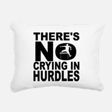 There's No Crying In Hurdles Rectangular Canvas Pi