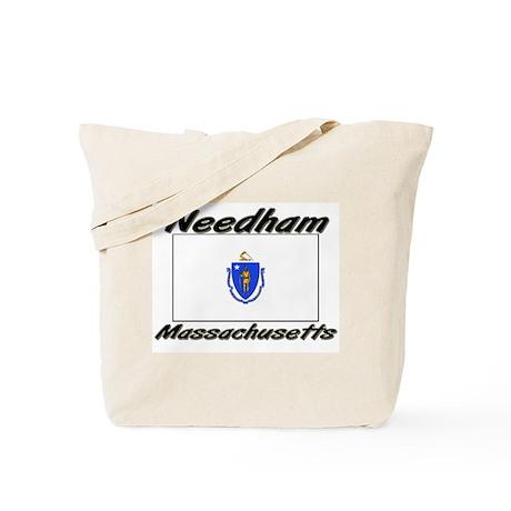 Needham Massachusetts Tote Bag