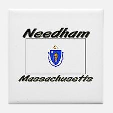Needham Massachusetts Tile Coaster